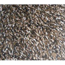 50*75 CM Tapis coton sans bord Moka