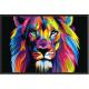 Tapis déco Lion ISBA - 50*75 cms