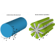 Lot tissus Bambou-essuyage
