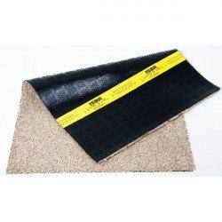 75*100 CM Tapis coton sans bord Beige