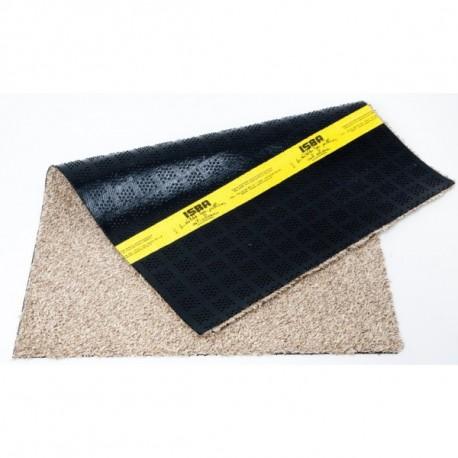 75*100 CM Tapis coton isba sans bord Beige