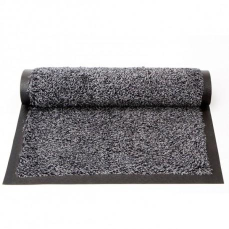 40*60 CM Tapis coton isba avec bords Cendre