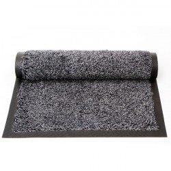 50*70 CM Tapis coton avec bords cendre