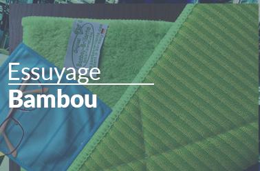 Essuyage Bambou